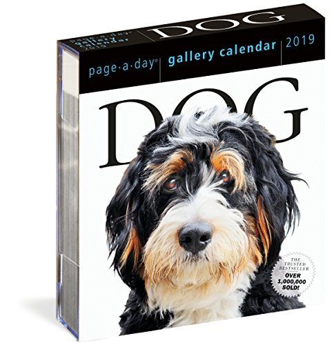 2019 Dog Gallery Page-A-Day Gallery Calendar By Workman Publishing