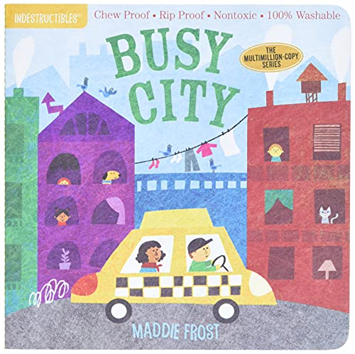 Indestructibles: Busy City By Maddie Frost