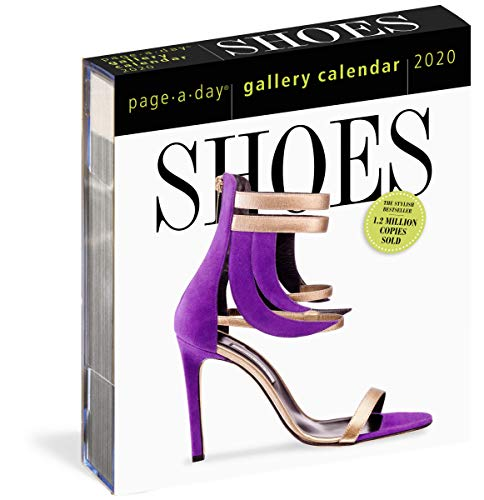 2020 Shoes Page-a-Day Gallery Calendar By Workman Calendars