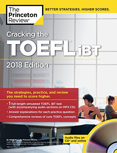 Cracking the TOEFL iBT with Audio CD By Princeton Review