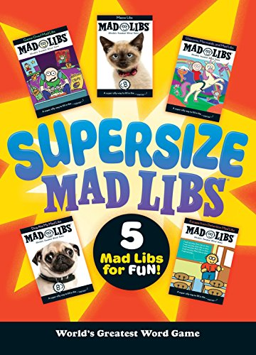 Supersize Mad Libs By Mad Libs