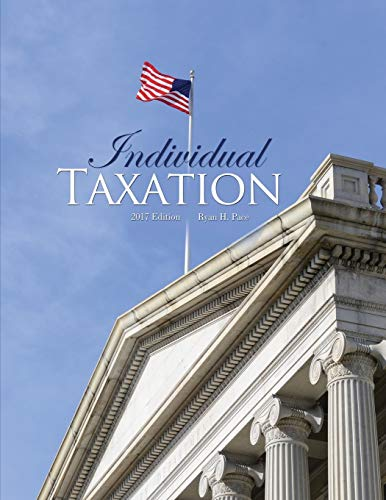 Individual Taxation By Ryan Pace