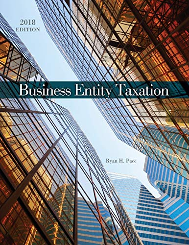 Business Entity Taxation By Ryan Pace