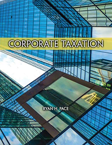 Corporate Taxation By Ryan Pace