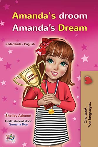 Amanda's Dream (Dutch English Bilingual Book for Kids) By Shelley Admont