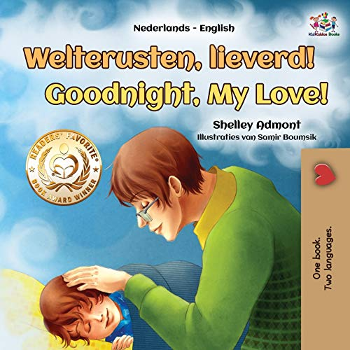 Goodnight, My Love! (Dutch English Bilingual Children's Book) By Shelley Admont