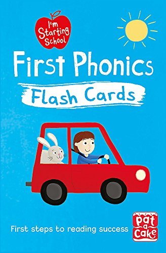 I'm Starting School: First Phonics Flash Cards By Pat-a-Cake