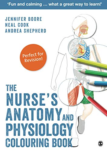The Nurse's Anatomy and Physiology Colouring Book By Jennifer Boore