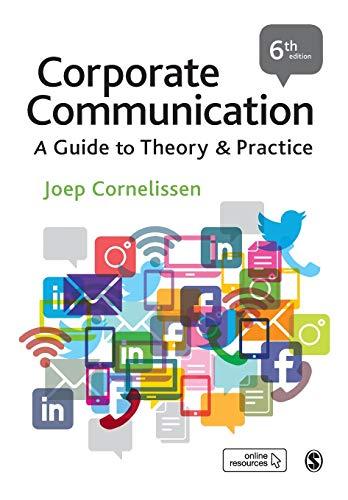 Corporate Communication By Joep P. Cornelissen