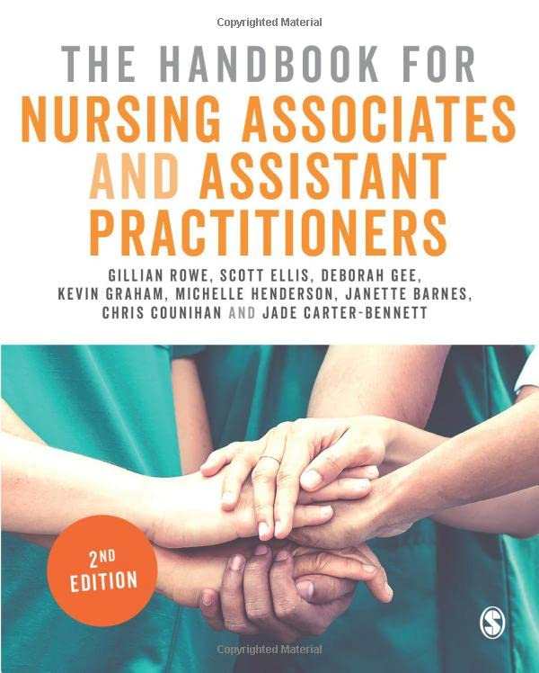 The Handbook for Nursing Associates and Assistant Practitioners By Gillian Rowe