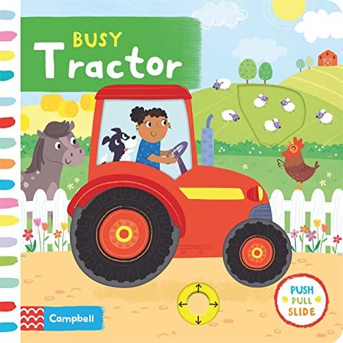 Busy Tractor von Samantha Meredith
