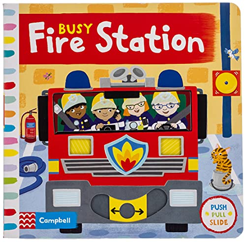 Busy Fire Station von Campbell Books