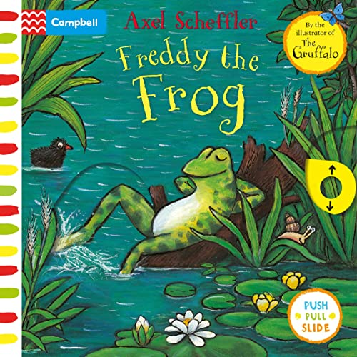 Freddy the Frog By Axel Scheffler