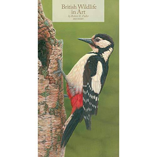 Robert Fuller, British Wildlife in Art Slim Diary 2021