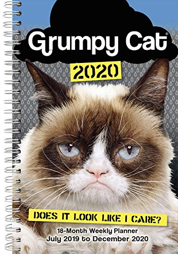 Grumpy Cat 2020 Weekly Diary Planner By Grumpy Cat Limited