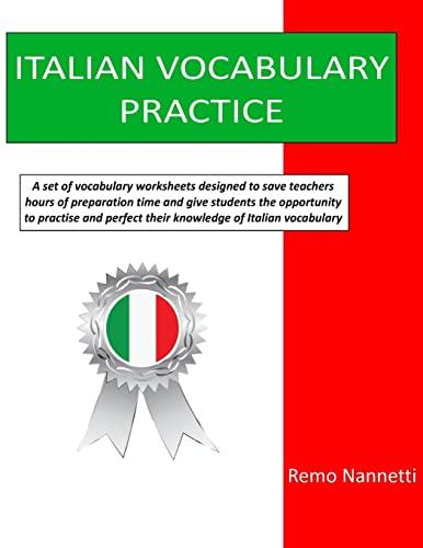 Italian Vocabulary Practice By Remo Nannetti