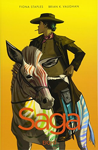 Saga Volume 8 By Brian K. Vaughan
