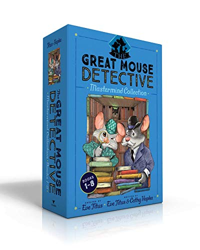 The Great Mouse Detective Mastermind Collection Books 1-8 By Eve Titus
