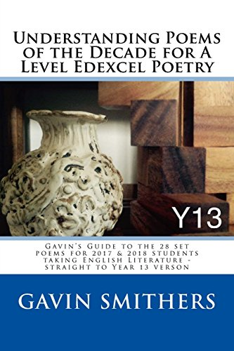 Understanding Poems of the Decade for a Level Edexcel Poetry par Gavin Smithers