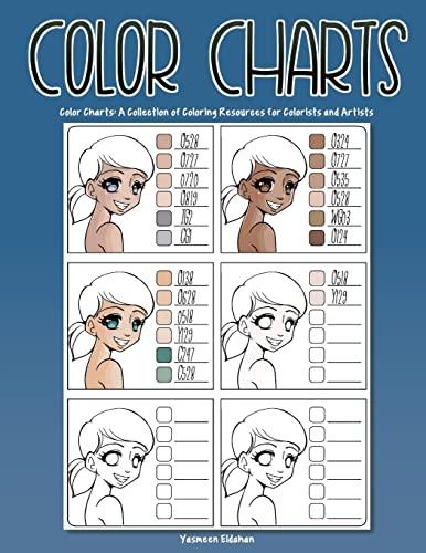 Color Charts By Yasmeen H Eldahan