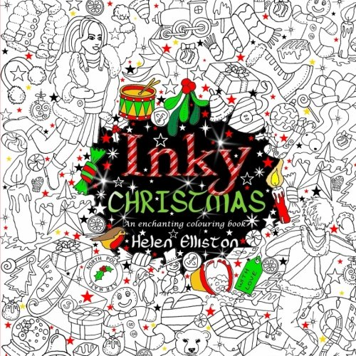 Inky Christmas An Enchanting Festive Adult Colouring Book