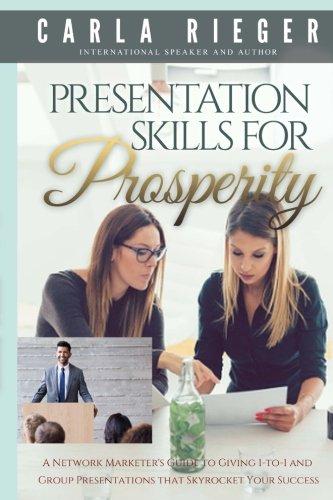 Presentation Skills For Prosperity By Carla Rieger