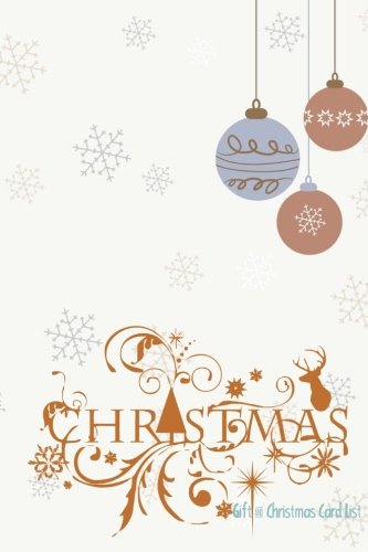 Gift & Christmas Card List By Signature Planner Journals
