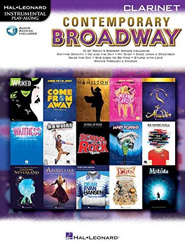 Contemporary Broadway: Instrumental Play-Along for Clarinet (Hal Leonard Instrumental Play-Along)