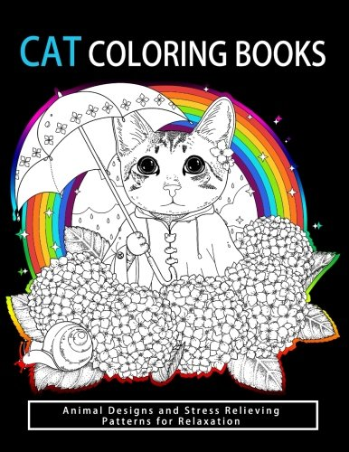 Cat Coloring Books: Cats & Kittens for Comfort & Creati