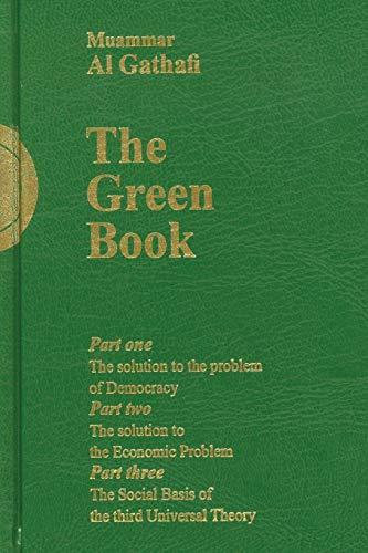Gaddafi's the Green Book By Muammar Al-Gaddafi