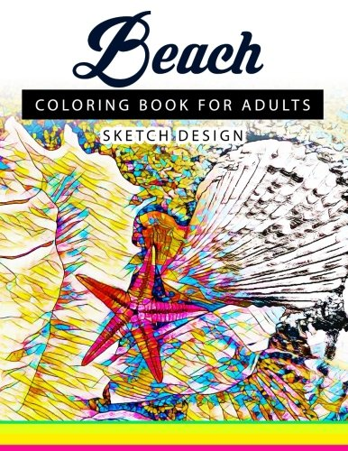 Beach Coloring Books for Adults By Beach Coloring Books for Adults