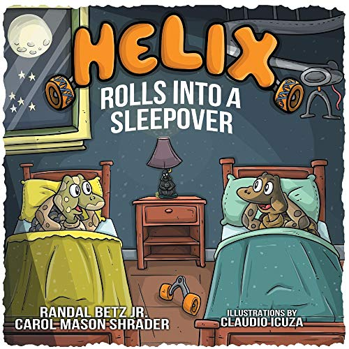 Helix Rolls Into A Sleepover By Randal Betz