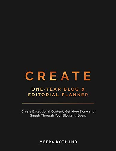 Create Blog and Editorial Planner By Meera Kothand