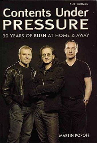 Contents Under Pressure By Martin Popoff