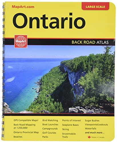 Ontario Road Atlas By Mapart Publishing