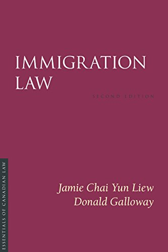 Immigration Law, 2/E By Jamie Chai Yun Liew