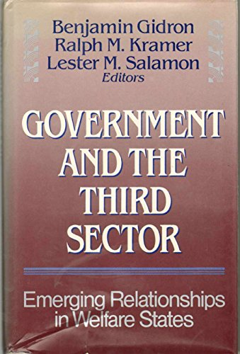 Government and the Third Sector By Benjamin Gidron (Associate Professor, Ben Gurion University of the Negev, Israel)