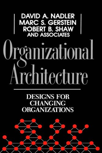 Organizational Architecture By David A. Nadler
