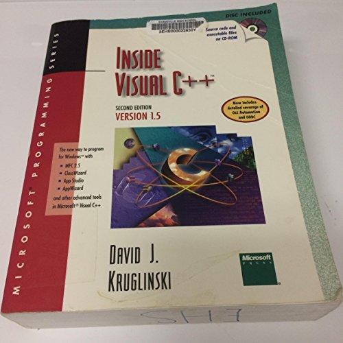 Inside Visual C++ By David Kruglinski