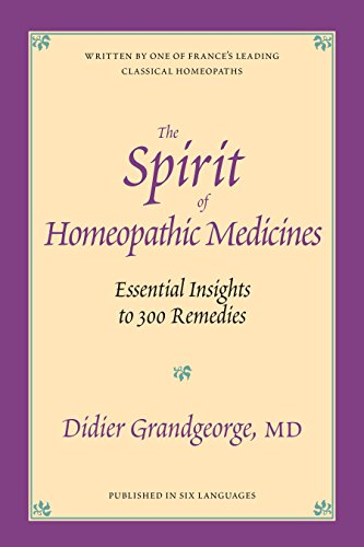 Spirit Of Homeopathic Med. By Didier Grandgeorge