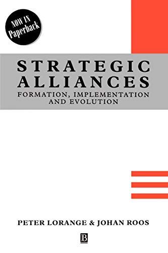 Strategic Alliances By Peter Lorange