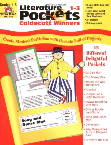 Literature Pockets: Caldecott Winners, Grades 1-3 By Jo Ellen Moore