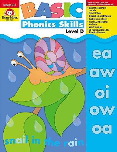 Basic Phonics Skills, Level D By Evan-Moor Educational Publishers
