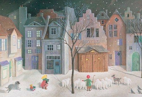 Silent Night Advent Calendar By Schroeder