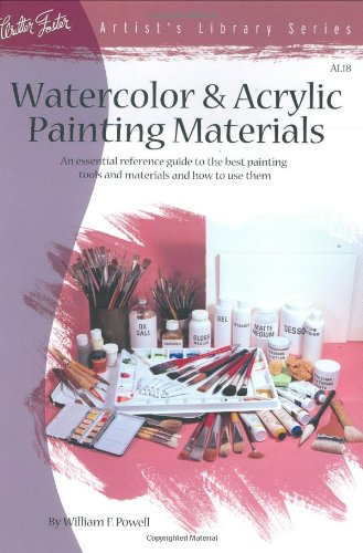 Watercolor & Acrylic Painting Materials (AL18) By William F