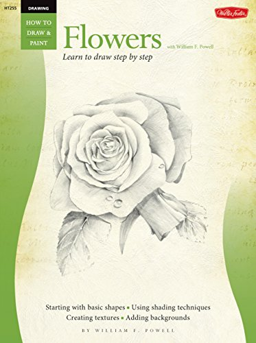 Drawing: Flowers with William F. Powell By William F. Powell