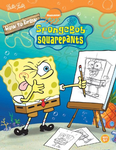 How to Draw Nickolodeon's Spongebob Squarepants By Heather Martinez