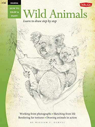 Wild Animals (How to Draw and Paint) By William  F Powell