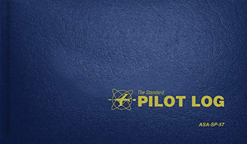 The Standard Pilot Log (Navy Blue): ASA-SP-57 (Standard Pilot Logbooks) By Created by ASA Staff