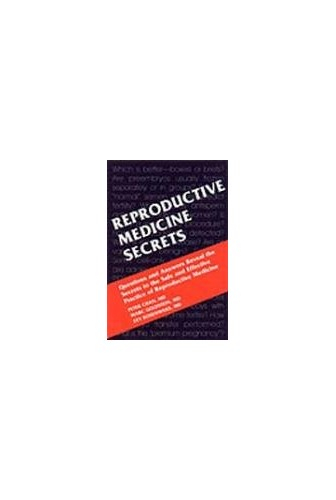 Reproductive Medicine Secrets By Peter Chan